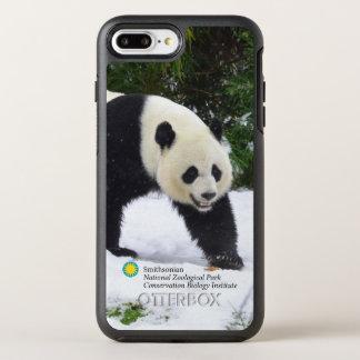 Funda OtterBox Symmetry Para iPhone 8 Plus/7 Plus Pandas gigantes de Smithsonian el | en la nieve