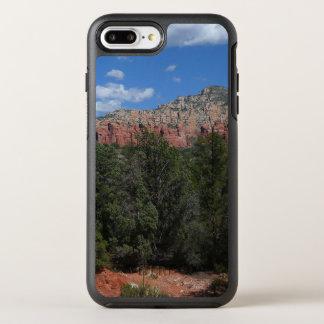 Funda OtterBox Symmetry Para iPhone 8 Plus/7 Plus Panorama de rocas rojas en Sedona Arizona