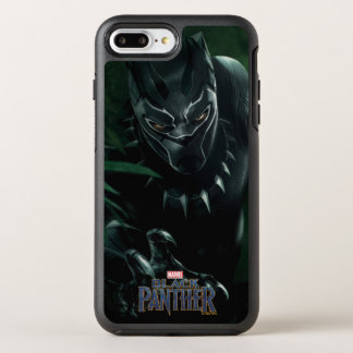 Funda OtterBox Symmetry Para iPhone 8 Plus/7 Plus Pantera negra el | en la selva