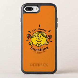 Funda OtterBox Symmetry Para iPhone 8 Plus/7 Plus Pequeña Srta. Sunshine el | soy siempre sol