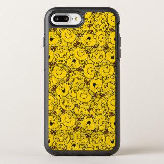 Funda OtterBox Symmetry Para iPhone 8 Plus/7 Plus Pequeño modelo de las sonrisas del amarillo de la