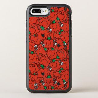 Funda OtterBox Symmetry Para iPhone 8 Plus/7 Plus Pesos de elevación de Sr. Strong el | rojos y