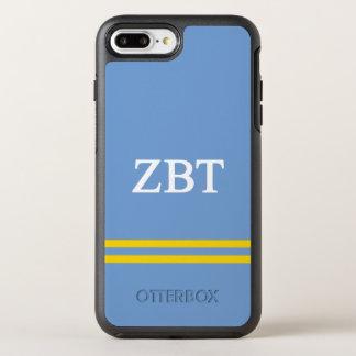 Funda OtterBox Symmetry Para iPhone 8 Plus/7 Plus Raya beta del deporte del Tau el | de la zeta