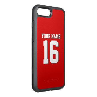 Funda OtterBox Symmetry Para iPhone 8 Plus/7 Plus Rojo de muy buen gusto del jersey de equipo del