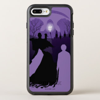 Funda OtterBox Symmetry Para iPhone 8 Plus/7 Plus Silueta de la muerte de Harry Potter el  
