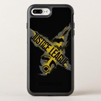 Funda OtterBox Symmetry Para iPhone 8 Plus/7 Plus Símbolos de la liga y del equipo de justicia de la