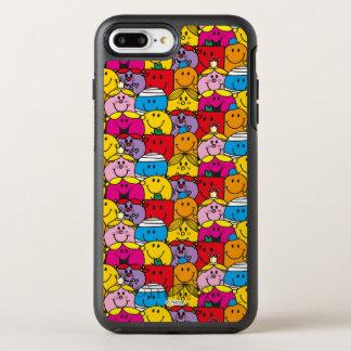 Funda OtterBox Symmetry Para iPhone 8 Plus/7 Plus Sr. Men y pequeña Srta. el | en un modelo de la