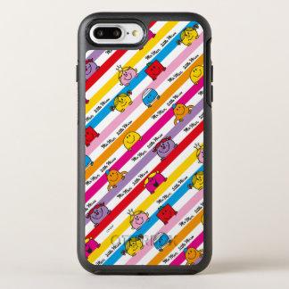 Funda OtterBox Symmetry Para iPhone 8 Plus/7 Plus Sr. Men y pequeño modelo de las rayas del arco