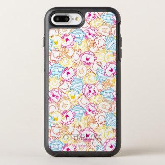 Funda OtterBox Symmetry Para iPhone 8 Plus/7 Plus Sr. Men y pequeño modelo de los colores del neón