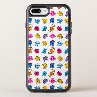 Funda OtterBox Symmetry Para iPhone 8 Plus/7 Plus Sr. Men y pequeño modelo de neón de baile de la