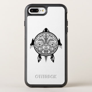 Funda OtterBox Symmetry Para iPhone 8 Plus/7 Plus Tatuaje tribal del escudo de la tortuga