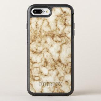 Funda OtterBox Symmetry Para iPhone 8 Plus/7 Plus Textura de mármol elegante