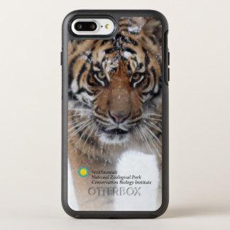 Funda OtterBox Symmetry Para iPhone 8 Plus/7 Plus Tigre Damai de Smithsonian el   Sumatran