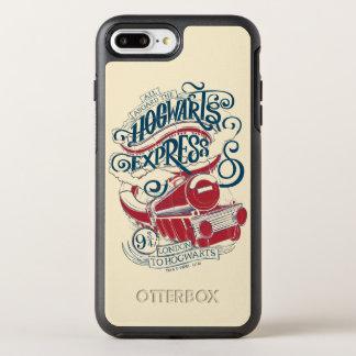 Funda OtterBox Symmetry Para iPhone 8 Plus/7 Plus Tipografía expresa de Harry Potter el   Hogwarts