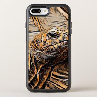 Funda OtterBox Symmetry Para iPhone 8 Plus/7 Plus Tortuga de ArtAnimal