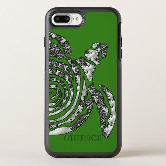 Funda OtterBox Symmetry Para iPhone 8 Plus/7 Plus Tortuga de la fantasía 3 D