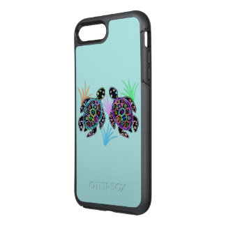 Funda OtterBox Symmetry Para iPhone 8 Plus/7 Plus Tortugas de mar