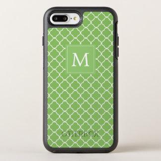 Funda OtterBox Symmetry Para iPhone 8 Plus/7 Plus Trébol verde del monograma el |