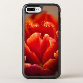 Funda OtterBox Symmetry Para iPhone 8 Plus/7 Plus Tulipán rojo