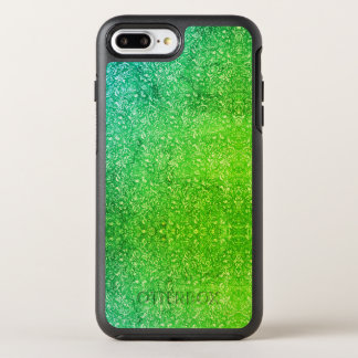 Funda OtterBox Symmetry Para iPhone 8 Plus/7 Plus Vitalidad colorida brillante floral verde de neón