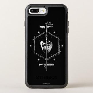 Funda OtterBox Symmetry Para iPhone 8 Plus/7 Plus Voldemort Harry Potter hace frente apagado al