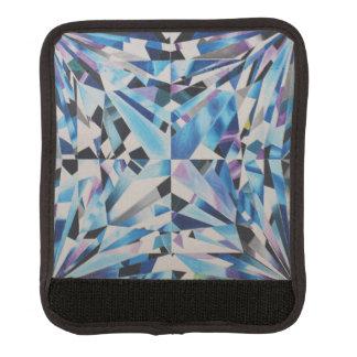 Funda Para Asa De Maleta Abrigo de cristal de la manija del equipaje del