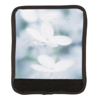 Funda Para Asa De Maleta Flores blancos hermosos