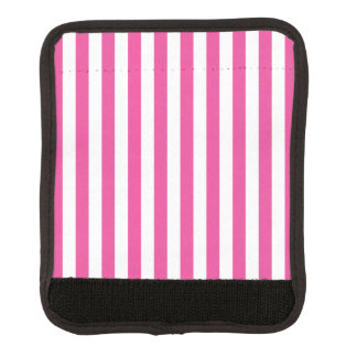 Funda Para Asa De Maleta Rayas verticales rosadas