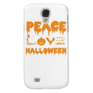 Funda Para Galaxy S4 Ame la camiseta del traje de Halloween con el