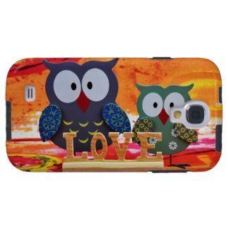Funda Para Galaxy S4 Amor del búho