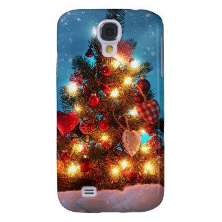 Funda Para Galaxy S4 Árbol de navidad - decoraciones del navidad -