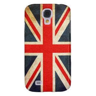 Funda Para Galaxy S4 Caja británica de la galaxia S4 de la bandera de