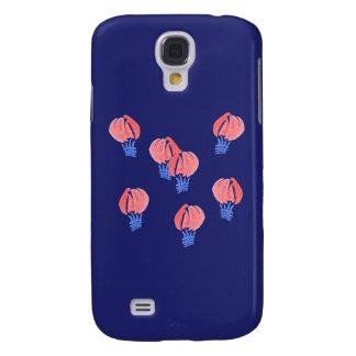 Funda Para Galaxy S4 Caja de la galaxia S4 de Samsung de los balones de