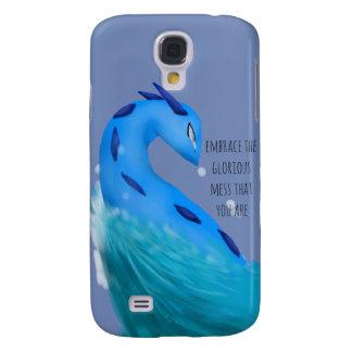 """Funda Para Galaxy S4 Caja del teléfono del dragón de agua """"del lío"""