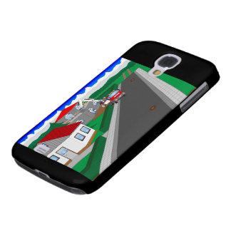 Funda Para Galaxy S4 Calles y construcción de casa