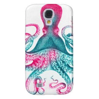 Funda Para Galaxy S4 Ejemplo del pulpo - vintage - kraken