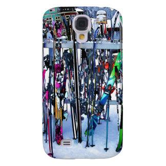 Funda Para Galaxy S4 El fiesta del esquí - esquís y postes