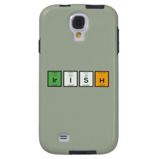 Funda Para Galaxy S4 Elementos químicos irlandeses Zy4ra