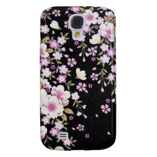 Funda Para Galaxy S4 Falln que conecta en cascada las flores rosadas