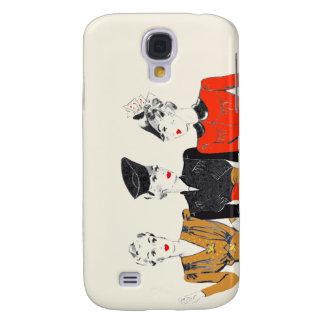 Funda Para Galaxy S4 Impresión coloreada del arte del vintage de 3