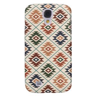 Funda Para Galaxy S4 Mezcla Stylized símbolo azteca del color del