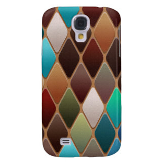 Funda Para Galaxy S4 Mosaico del diamante del trullo