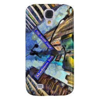 Funda Para Galaxy S4 Placa de calle Van Gogh de Nueva York