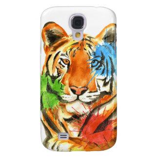 Funda Para Galaxy S4 Salpicadura del tigre