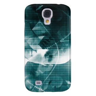 Funda Para Galaxy S4 Tecnología futurista de la ciencia médica como