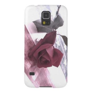 Funda Para Galaxy S5 3 color de rosa patrióticos