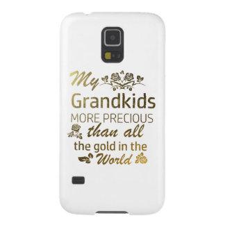 Funda Para Galaxy S5 Ame mis diseños del Grandkid