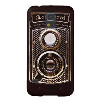 Funda Para Galaxy S5 Art déco del rolleicord de la cámara del vintage