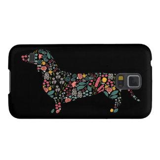 Funda Para Galaxy S5 Arte de la acuarela del estampado de flores del