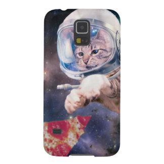 Funda Para Galaxy S5 astronauta del gato - gatos divertidos - gatos en